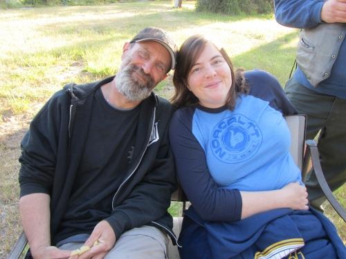 Cary and John, Fort Bragg, California, May, 2012. Photo by Ryan