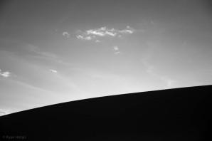 Sunset at Eureka Dunes, CA.