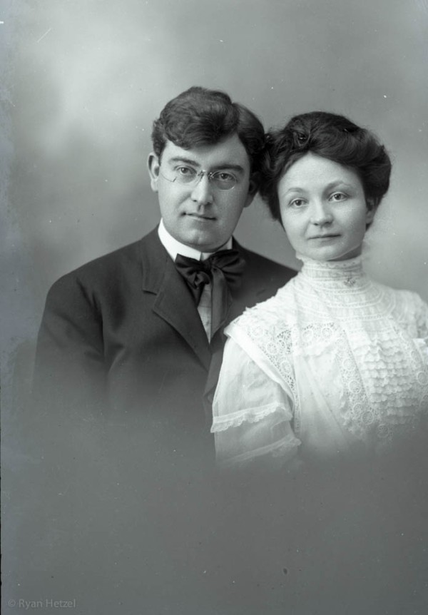 Leo and Stellas wedding, April 29, 1908.