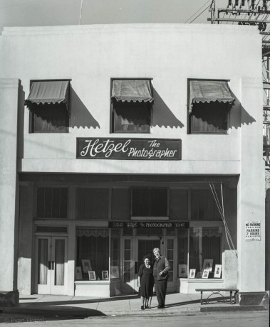The photo studio at 126 South 5th Street, El Centro, California.