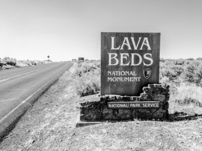 Northern entrance sign