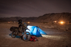 Camping at Lower Saline Valley Hot Springs