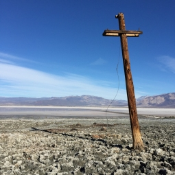 Heading south in Saline Valley