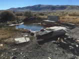 Hot Spring on Surprise Valley Road.