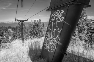 Iron Mountain Ski Resort- Abandoned in 1999.
