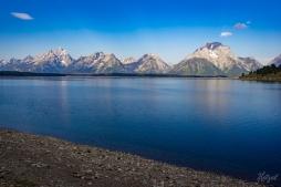 View across Lake Jackson
